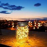30 LED Lanterne da Esterno,Lanterna Solare,Luci Solari Giardino,Lanterna da Campeggio,Lampade Decorazioni Cerimonia (1 pezzo)