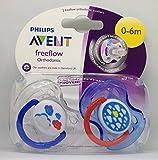 Philips Avent Freeflow: 2 x Schnuller 0-6m (Wolken)