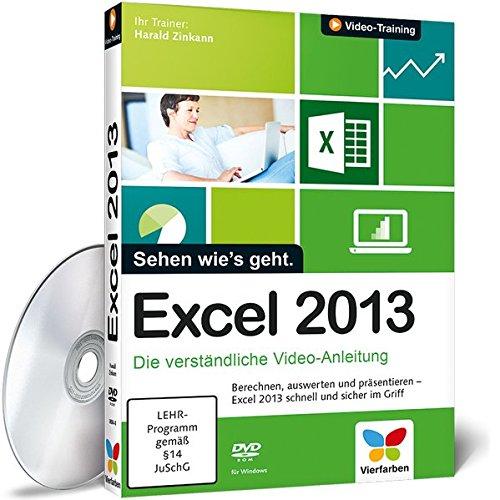 Excel 2013 - Die verständliche Video-Anleitung