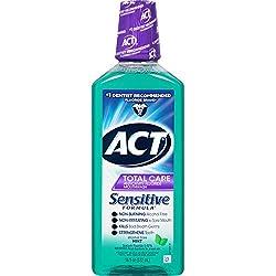 Act Total Care Mild Mint Anticavity Fluoride Mouthwash, 18 oz