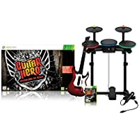 Guitar Hero 6: Warriors of Rock - Full Band Bundle (Xbox 360) [Edizione: Regno (Xbox 360 Rock Guitar)