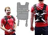 Duragadget Harnais minimaliste avec sangle pour Silverlit Discovery, Walker et Demon Drone, Sky Viper v950STR mini hélicoptère et ses accessoires