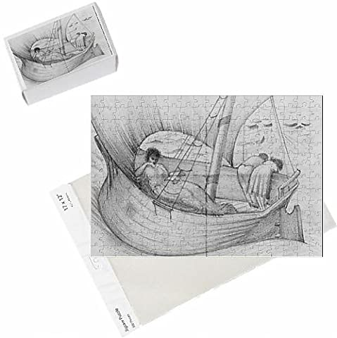 Photo Jigsaw Puzzle of Mama, Gertie and Georgie travelling on a boat to France, from the album