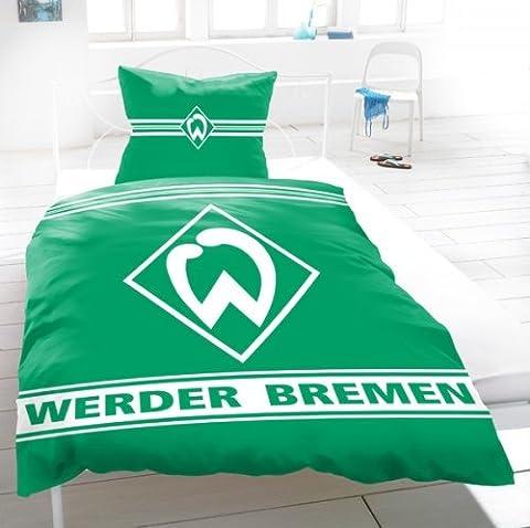 SV Werder Bremen Bettwäsche Biber 'Sport'