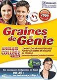 Graine de génie anglais collège 2008-2009