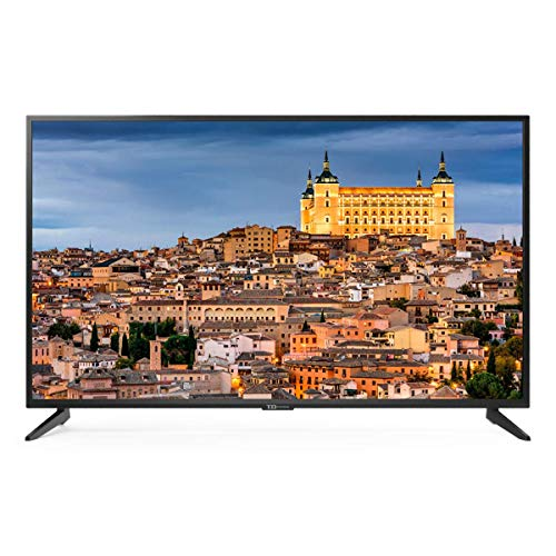 Televisor Led 55 Pulgadas Ultra HD 4K Smart TD Systems K55DLG8US. Resolución 3840 x 2160 HDR10 3X HDMI VGA 2X USB Smart TV.