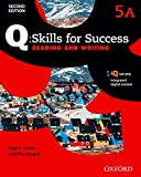 Q Skills for Success - Level 5: Reading & Writing Split Student Book a with IQ Online