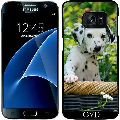 Funda para Samsung Galaxy S7 - Perrito Dálmata, Un Lindo Perro by Katho Menden
