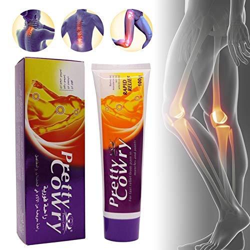 Elitemill Ätherisches Öl, Massage Linderung Arthritis Schmerz Creme Muskel Gelenke Ätherisches Öl Salbe 100g Gesundheit Produkte -