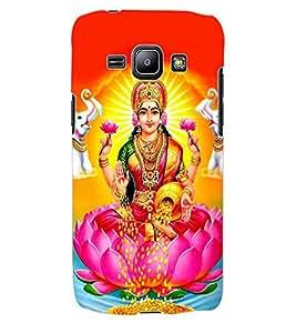 ColourCraft Maa Laxmi Design Back Case Cover for SAMSUNG GALAXY J1