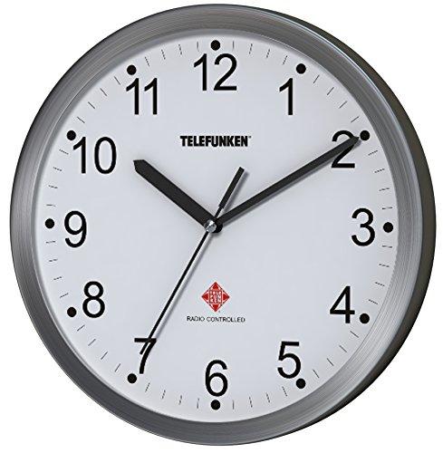 telefunken-radio-reloj-de-pared-aluminio-antracita-25-x-4-x-25-cm-aluminio-weisses-ziffernblatt-25-x