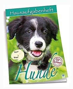 Edition Trötsch 201528 - Cuaderno de Deberes (DIN A5, 96 páginas, con sobre Transparente), diseño de Perros, Multicolor