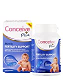 """Conceive Plus Men's Fertility Support 60 Caps: Multivitamin Multimineral Food Supplement For Male Sperm Health Motility Vegetarian Fertility Pills To Boost Sexual Health, Semen quality"