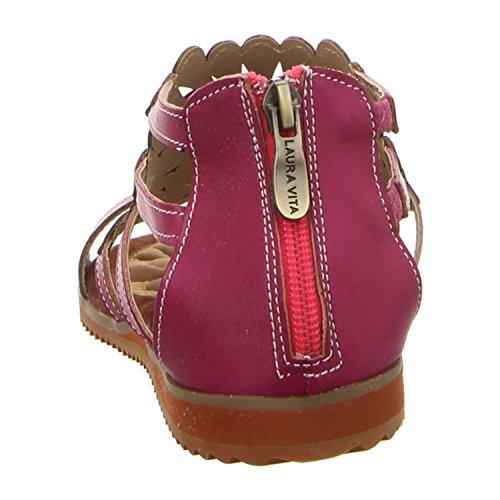 Laura Vita  Aw828-3, Sandales pour femme rose bonbon