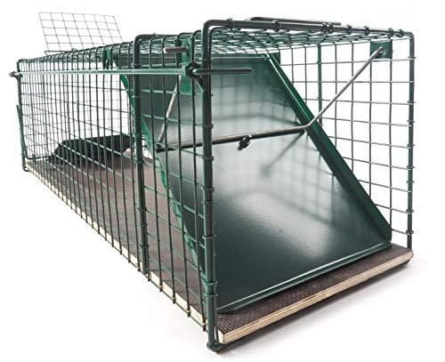 *123jagd große 116x26x28cm Marderfalle Waschbärfalle Katzenfalle Kaninchenfalle Lebendfalle Tierfalle Lebend-Falle Tier-Falle Falle*