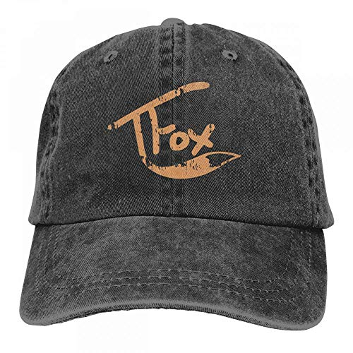 Gorgeous ornaments Men's Women's Tanner Fox Cotton Adjustable Peaked Baseball Dyed Cap Adult Washed Cowboy Hat Womens Tanner