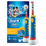 Oral-B Stages Power Kids - Cepillo de dientes eléctrico con diseno Mickey Mouse
