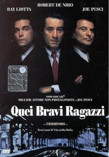 Quei Bravi Ragazzi Amazon It De Niro Joe Pesci De Niro Joe Pesci Film E Tv