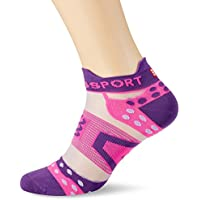 Compressport PRS Ultralight Run Low V2.1 Calcetines, Todo el año, Unisex, Color Morado, tamaño T4