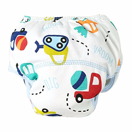 Mädchen Frottee-cover (Tefamore Baby Training Hose Wieder Verwendbare Tuch Windel Waschbare Windeln 0-3 Jahre alt (100, Multicolor))