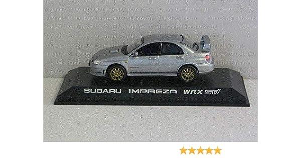 NOREV 1//43 VOITURE 800072 Subaru Impreza WRX STI 2005 Grise