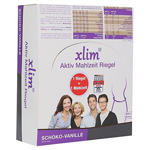 Xlim aktiv Mahlzeit Schoko-Vanille, 12 St. Riegel