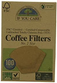 If You Care No. 2 Coffee Filters, 100-Count Boxes (Pack of 12)
