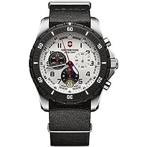 Victorinox Maverick Reloj para Hombre Analógico de Cuarzo con Brazalete
