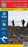 Otok Rab 1:25.000 Wanderkarte (Kroatien)