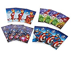 American Greetings Boys Avengers Epic Mini Notepads (12 Piece)