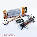 Best Breadboards - AZDelivery ⭐⭐⭐⭐⭐ Kit Breadboard MB 102 – Breadboard Review