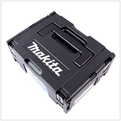 Makita Makpac Gr. 2 Transportbox und Werkzeugkiste — schwarz — - 2