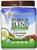 Sunwarrior Warrior Blend Schokolade, neue Formel, Bio-Qualität, 1er Pack (1 x 500 g)