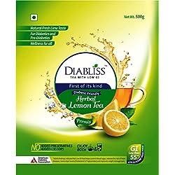 DiaBliss Herbal Diabetic Friendly Lemon Tea - Low Glycemic Food