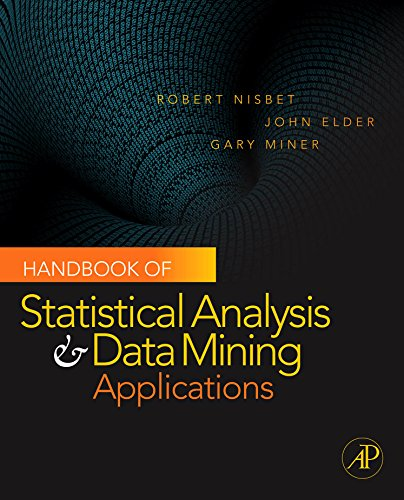 Handbook of Statistical Analysis and Data Mining Applications (English Edition) par  Robert Nisbet