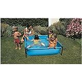 Manufacturas Gre Y25 - Piscine carrée tubulaire pour enfants 125 x 125 x 35 cm