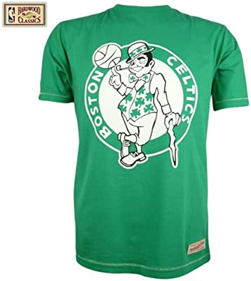 Mitchell & Ness Boston Celtics Tailored estándar Logo NBA-Camiseta