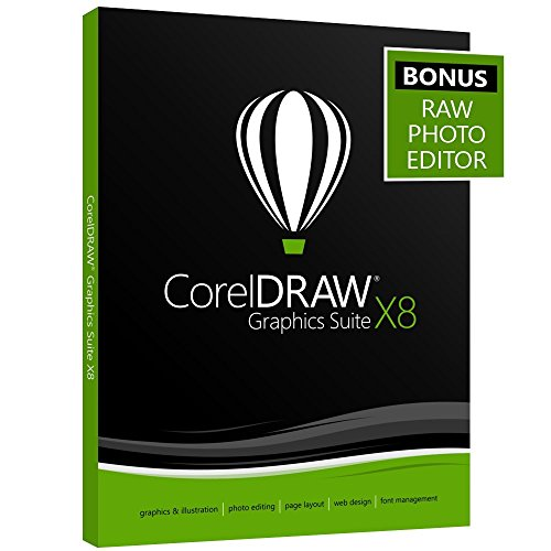 CorelDRAW Graphics Suite X8 WITH 2 YEAR UPGRADE PROTECTION