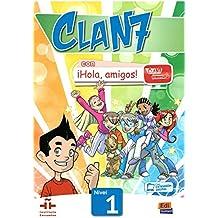 Clan 7 con ¡Hola, amigos! Nivel 1 alumno