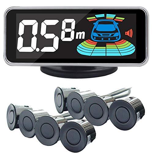 Class-Z Auto Rückfahrwarner Einparkhilfe,8 Sensoren Hinter Mit LED Farb Display Auto Parken Sensor System Radar Kit