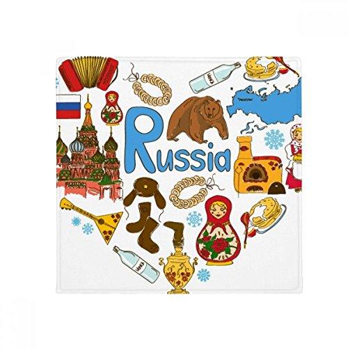DIYthinker Russland Akkordeon Basilikum-Kathedrale Anti-Rutsch Boden Pet Matte quadratisch Home Kitchen Tür 80cm Geschenk - Kathedrale Türen
