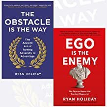 Ryan Holiday Collection 2 Books Bundle (The Obstacle is the Way: The Ancient Art of Turning Adversity to Advantage, Ego is the Enemy: The Fight to Master Our Greatest Opponent [Hardcover])