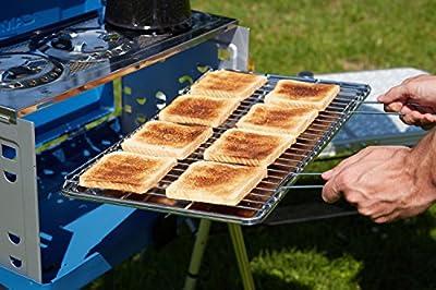 Campingaz Zweiflammkocher Mehrflammkocher Koffergasgrill, blau