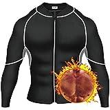 Pellor Herren Saunaweste Neopren Shapewear Trainer Sauna Schwitzanzug Sportbekleidung Gut Für Körperformer Gewichtsverlust