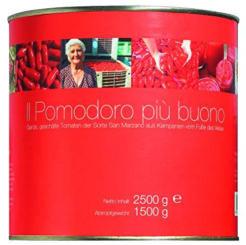 Il pomodoro più buono San Marzano, Ganze, geschälte Tomaten, (6 x 2.5 kg), 15000 g