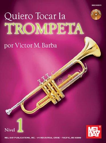 Quiero Tocar la Trumpeta Trompette+CD por Victor (Autho Barba