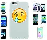 Teléfono Móvil 'llorando cara' para Apple Samsung- LG- Huawei- Sony- HTC/Teléfono celular tapa para iPhone 4,5,6,7- Galaxy s2,3,4,5,6,7- -- p9- con Smiley- Emoji Sony XPERIA Z 5 Compact