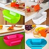 Bluelover Cucina Trash Can Rifiuti Caselle Di Posta Indesiderata Contenitore Ambry Storage Box Desktop