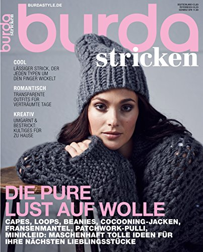 Burda stricken 2013 Nähmagazin Nähheft (Vintage-mode-magazin)
