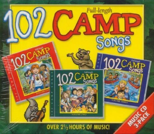 102 Camp Kids Songs CD Boxed Set by Twin Sisters